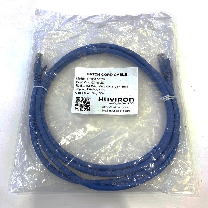 Dây nhảy mạng Huviron Cat6 H-RJ45/6/50
