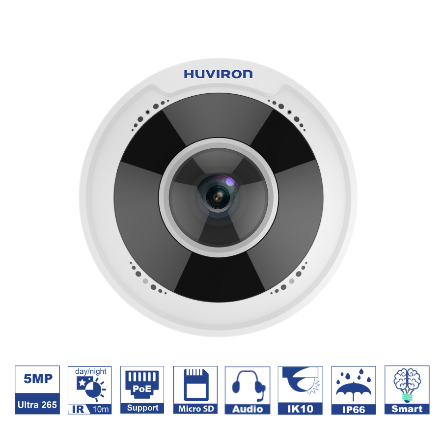 Camera Fisheye HU-NF510DM/I1E